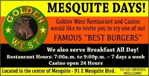 Golden West-Mesquite Daysf