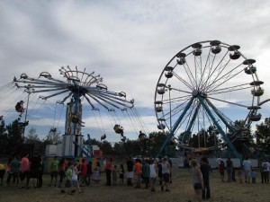 Carnival fun will begin at 5 p.m. today at the soccer field on the West side of the Mesquite Recreation Center at 100 W. Old Mill Rd. Photo by Stephanie Frehner.