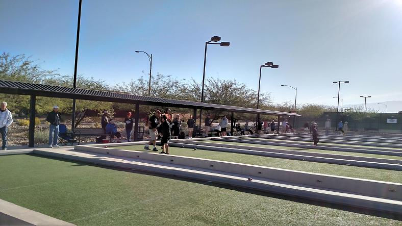 Senior Games: Bocce Ball and Tennis Results