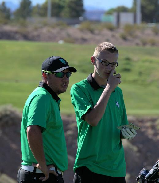 Boys Golf ties for second
