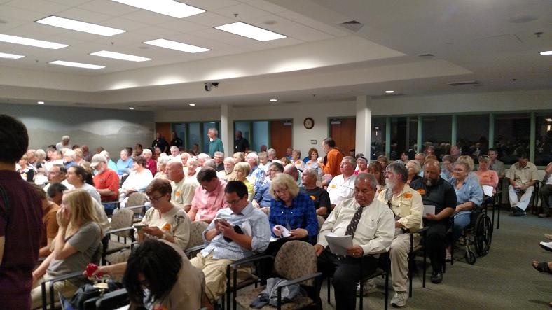 Long meeting agenda draws out-of-towners