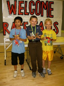 Trey Sandoval, Drew Maxfield and Owen Rappelye.