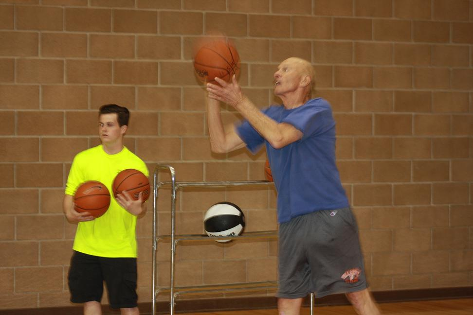 Basketball highlights Senior Games weekend