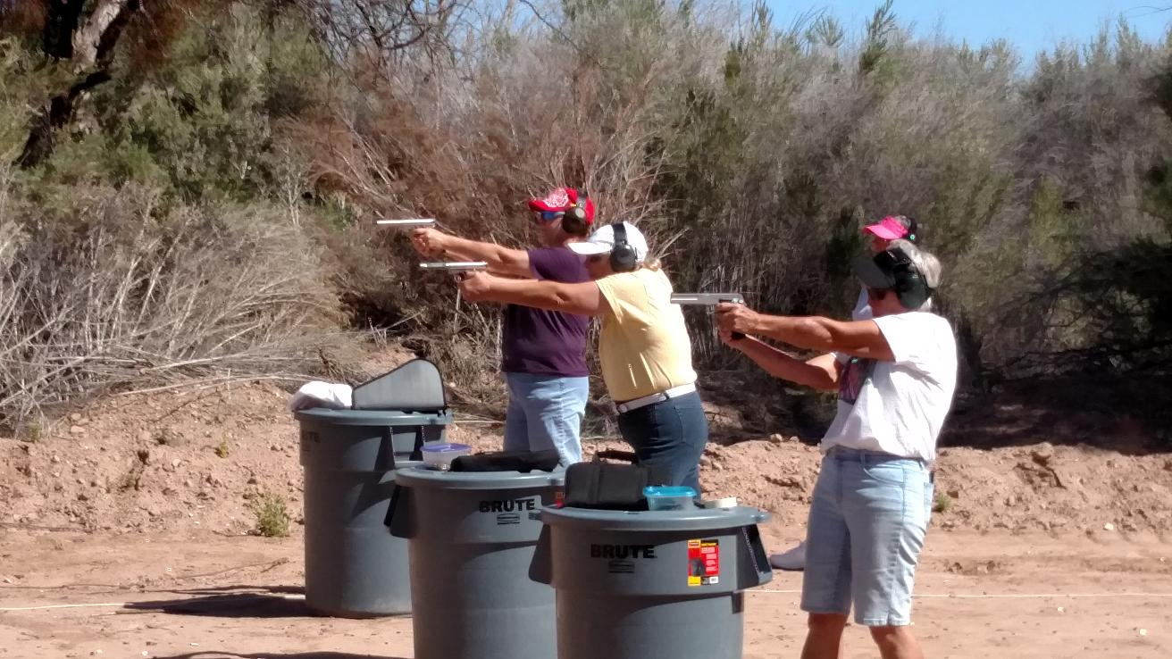 Women gear up for Pistol Competition