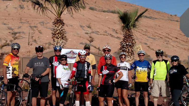 First bicycling event participants win big