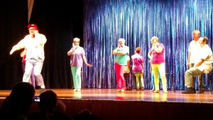 One of the scenes from the finale special, an abbreviated version of Bye Bye Birdie! Photo by Stephanie Frehner.