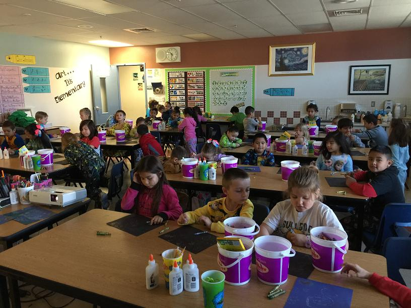 Students get creative at Virgin Valley Elementary