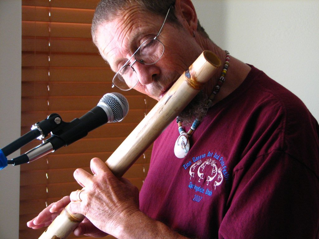 Colin Warren Flute and Poetry Concert April 16