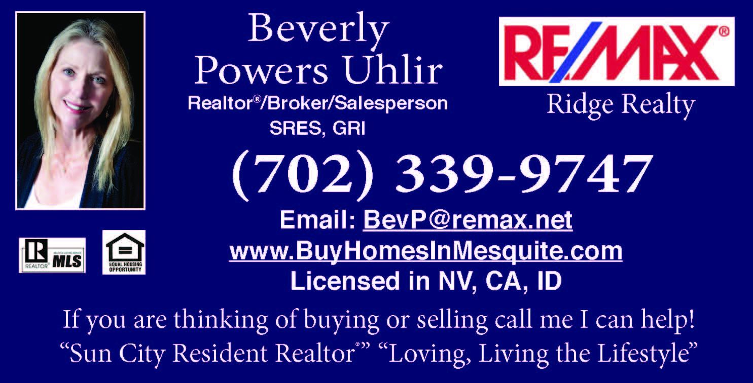 Featured Realtor: Beverly Powers Uhlir