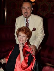 Recent photo Arlene Dahl and Marc Rosen - provided by Marc Rosen