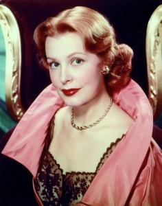 Publicity still of Arlene Dahl from the 1940s