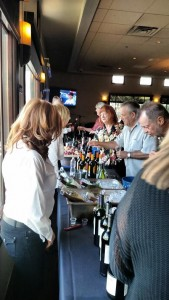 Supporters of the Kids for Sports Foundation gathered at The Terrace Restaurant at Wolf Creek Golf Club last Saturday evening for their May Wine Fest. Photo by Stephanie Frehner.