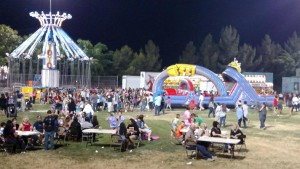 Crowds were plentiful Saturday night at the Mesquite Days Carnival as the community came together to celebrate, relax and have fun with family and friends. Photo by Stephanie Frehner.