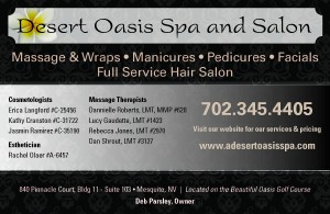 Desert Oasis Spa-DEb Parsley