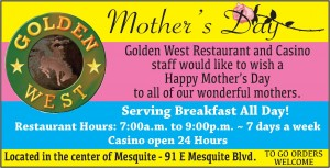 Golden West-Mothers Day