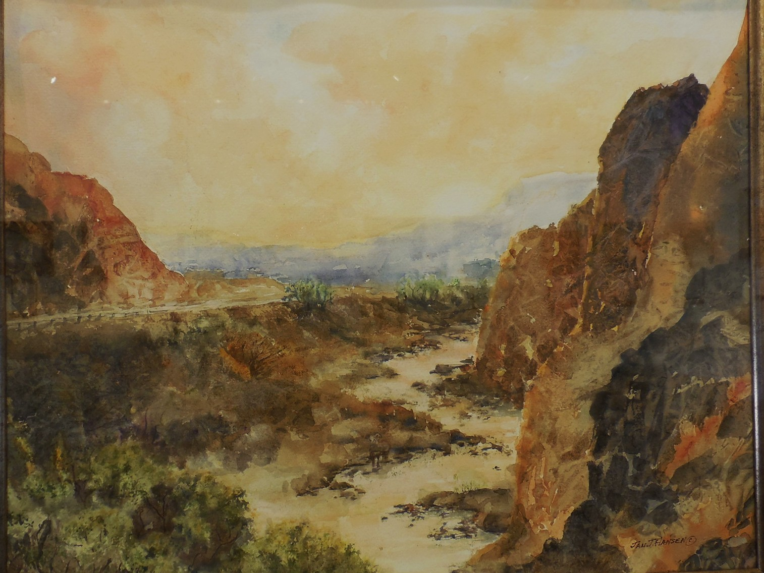 """Last Chance to View """"Geographical Divides"""" at the Mesquite Fine Arts Center"""