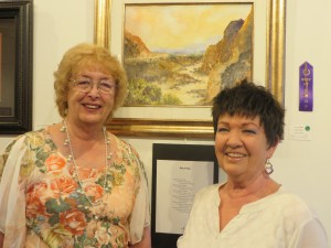 Lin Floyd and Jan Hansen were named Best of Show in Artists and Poets Exhibition.