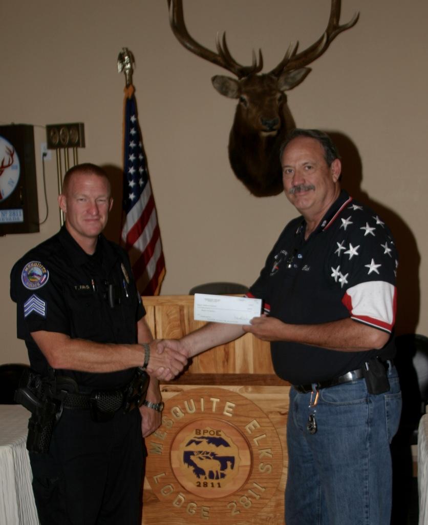 Mesquite Elks Lodge #2811 Donate to 2015 Grad Night