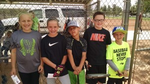 Brooklin Montoya, Gracie Woods, Mason Montoya, Kyler Worthen & Jordan Goodsell