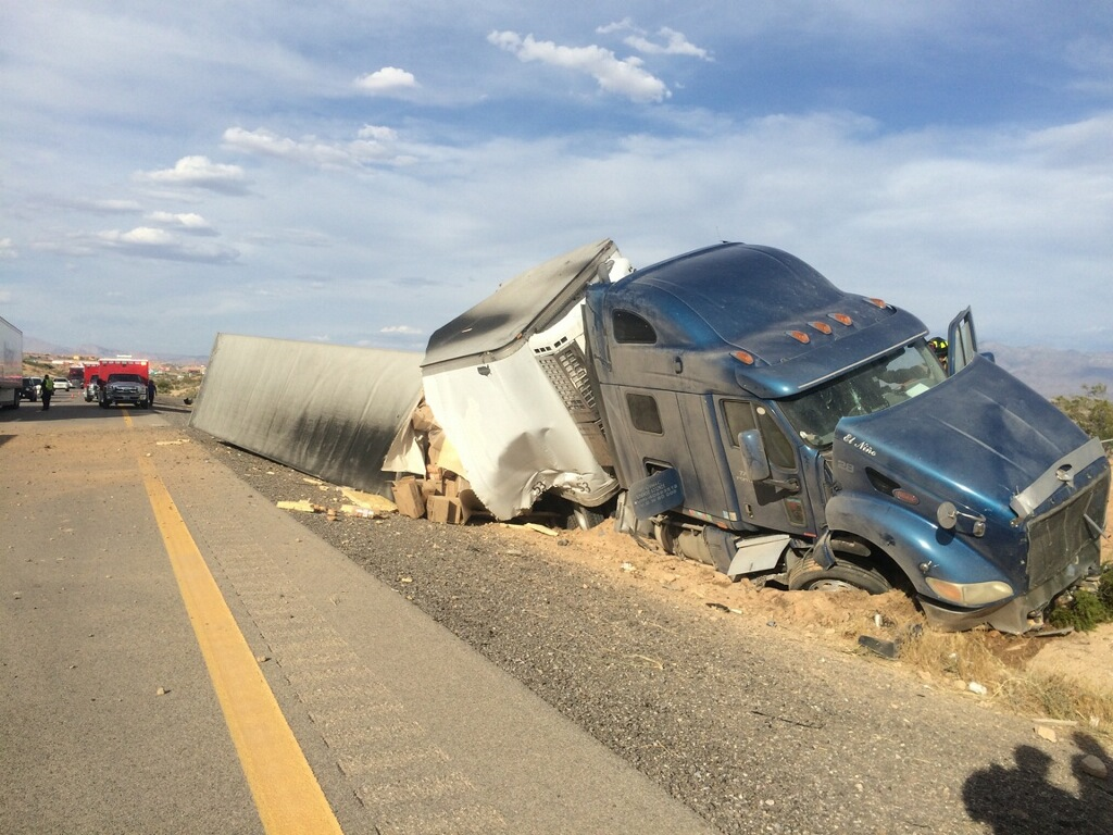 Freeway Accident in Mesquite Sends One to Hospital