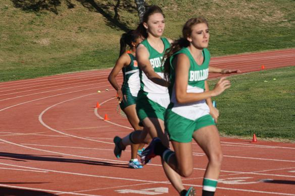 Bulldog track teams compete at annual Boulder City Small School Invite