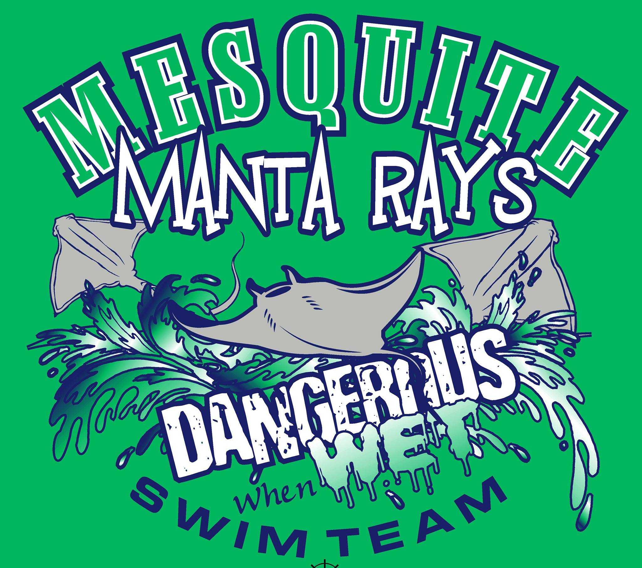 """THE MANTA RAYS"" Summer Swim Team"