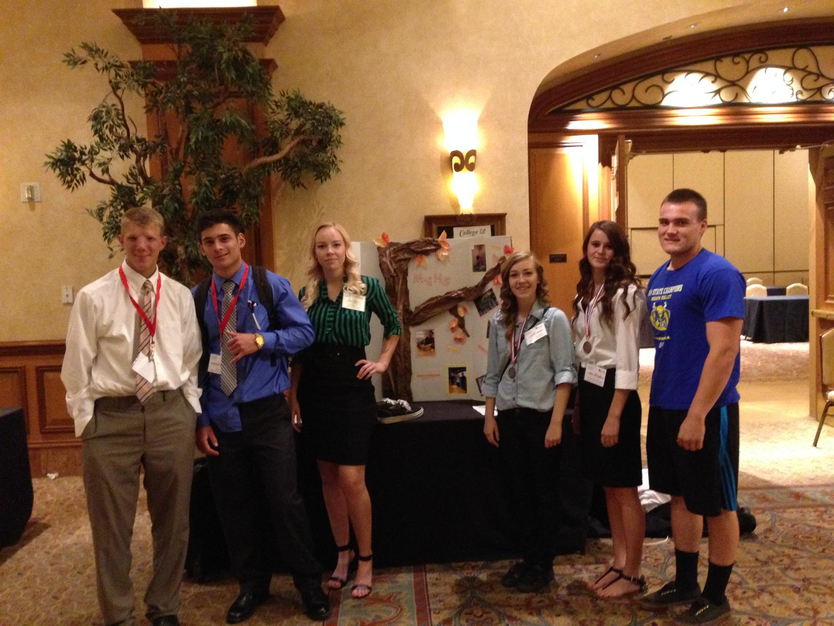 Moapa Valley High School JAG Students Compete at Career Development Conference