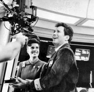 1. Still of Melanie and Bill Shatner on Star Trek V The Final Frontier - Paramount Pictures