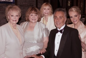Cast of The Remake, Lockhart's laterst film. June Lockhart, Patrika Darbo, Sally Kellerman, Ruben Roberto Gomez, and Lynne Alana Delaney - photo credit Jacopo Manfren