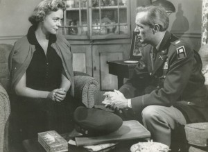 June Lockhart and Richard Widmark in 1957's Time Limit - Heath Productions United Artists