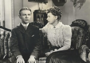 3. Jimmy Lydonl and Irene Dunne in a scene from Life with Father - Warner Bros.