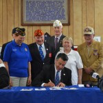 Governor Sandoval Signs Veterans Legislation