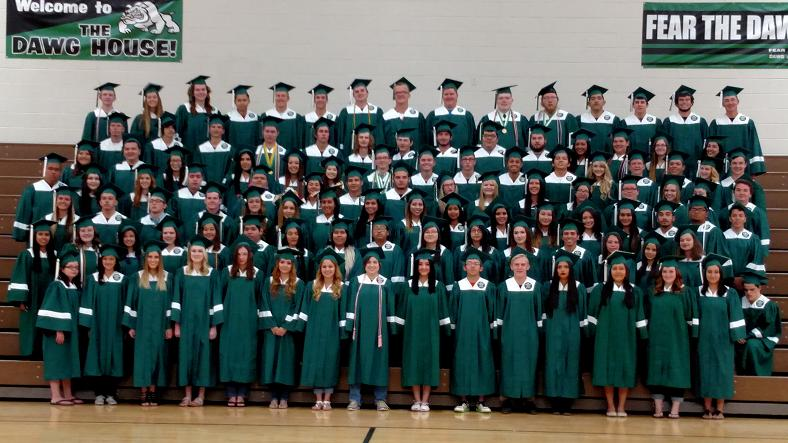 Graduation tonight for VVHS, 8 p.m.