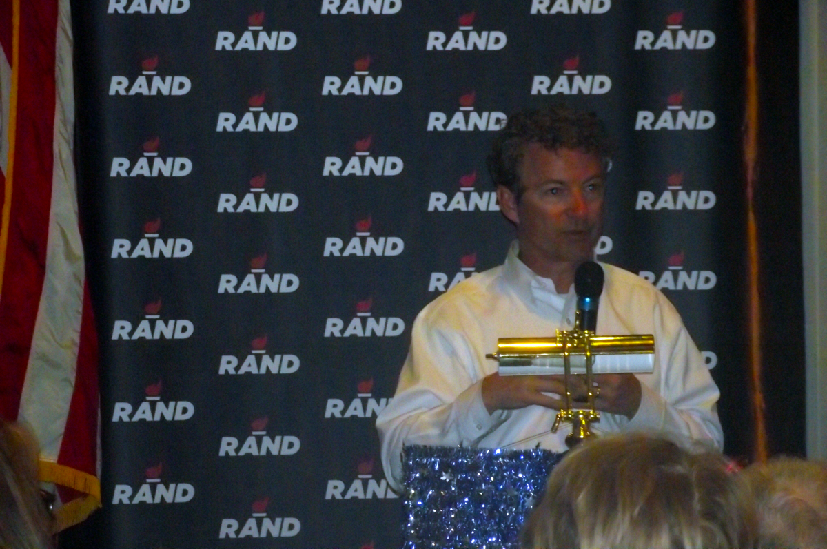 "Rand Paul – ""Defeat the Washington Machine, Unleash the American Dream"""
