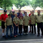 Scouts honor Veterans