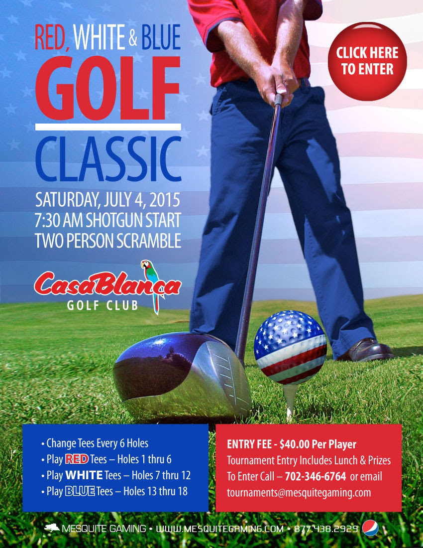 Mesquite Gaming announces July 4 Golf Tournament