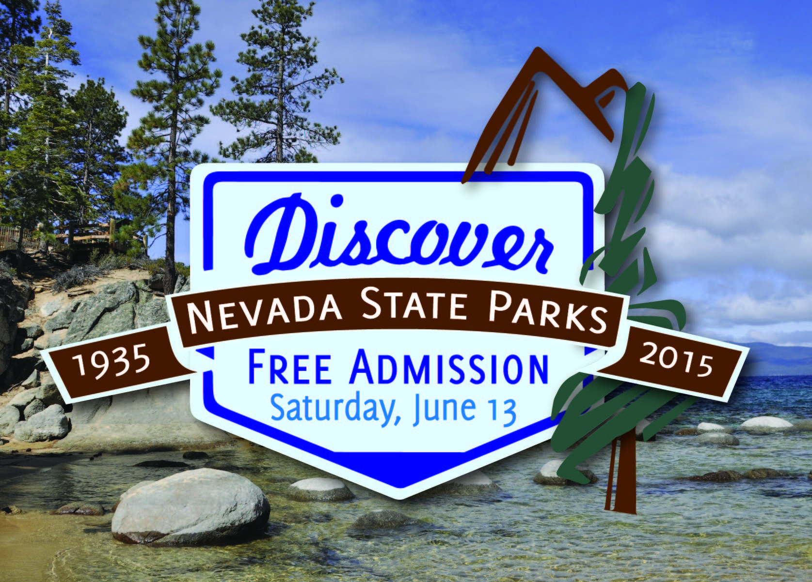 """""""Discover Nevada State Parks"""" Day on Saturday, June 13th"""