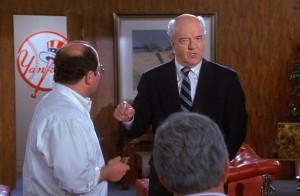 Richard Herd in Seinfeld as Mr. Wilhelm - NBC