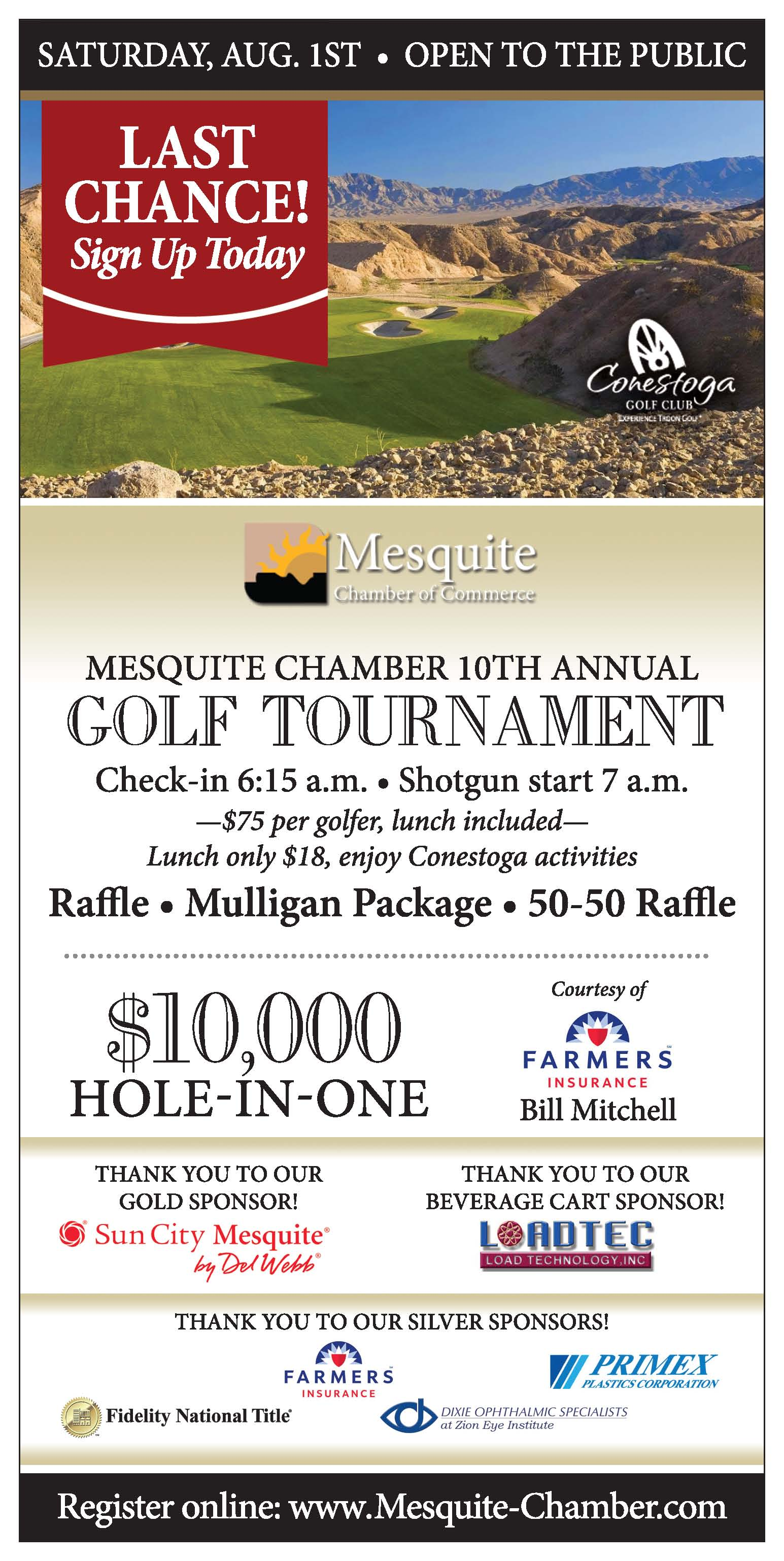 Major Sponsors Partner with Mesquite Chamber Of Commerce