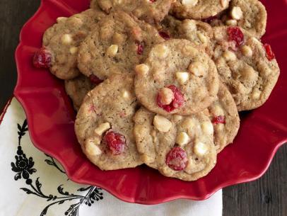 Cherry-White Chocolate Drop Cookies