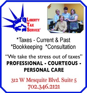 Liberty Tax Ballot.