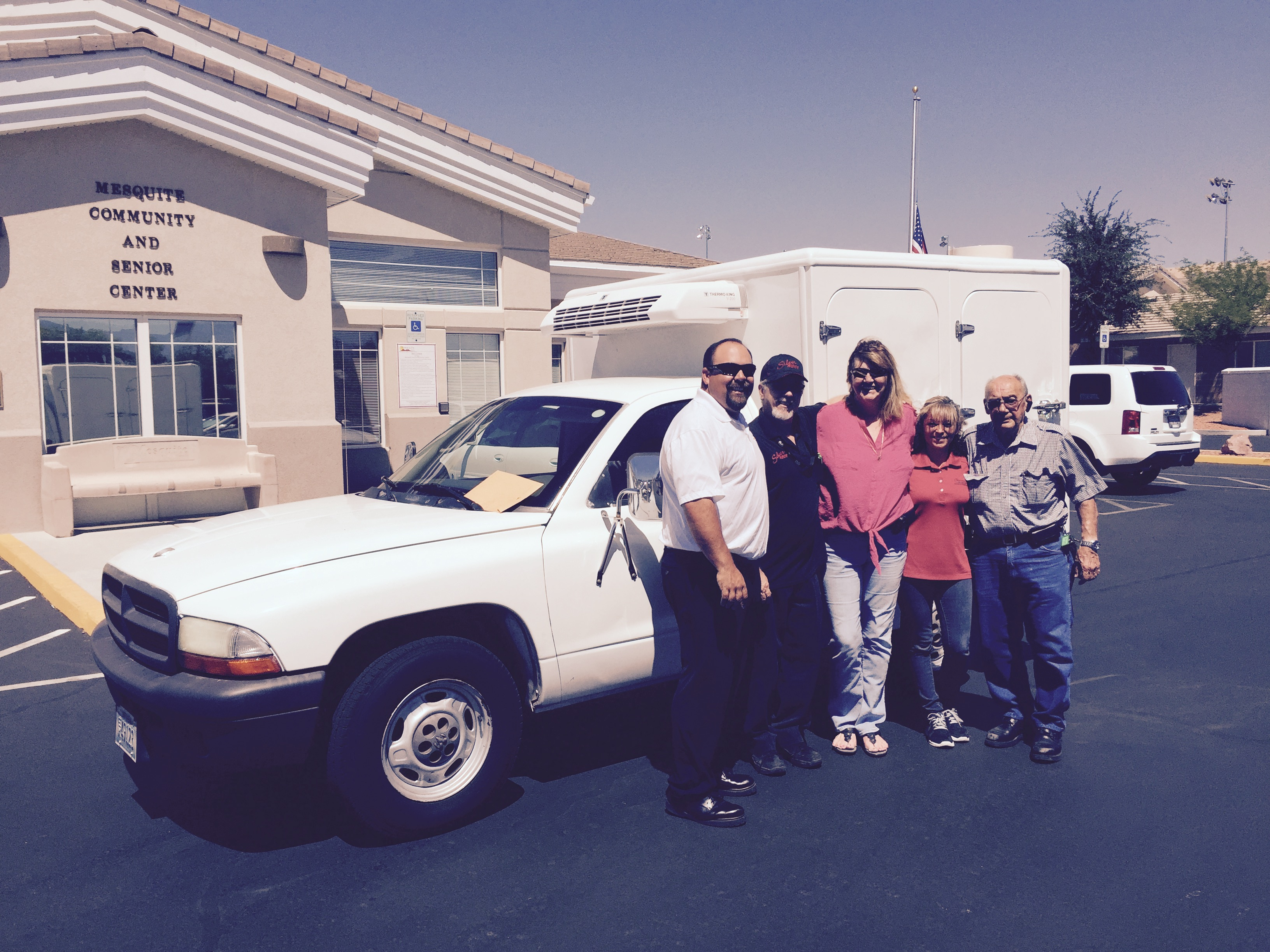 SNTC donates new Meals on Wheels truck to Mesquite
