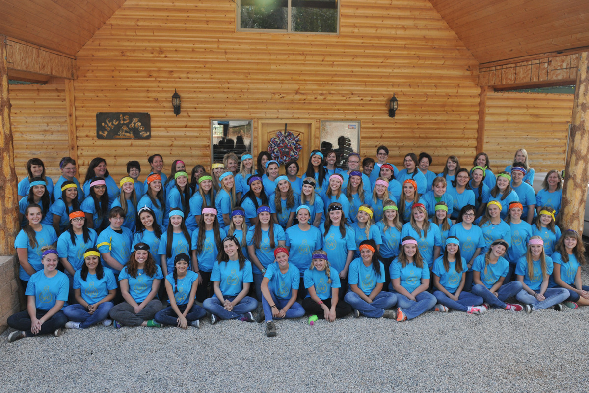 Fifty-Four Local Young Women Attend Camp Ruth