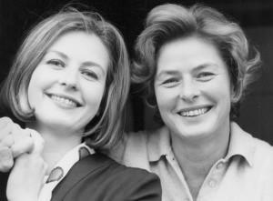 Pia  (L) and Ingrid Bergman, around 1963.  (Photo provided by Pia Bergman.