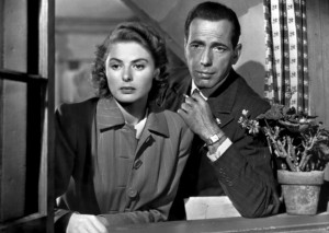 Ingrid Bergman and Humphrey Borgart in Casablanca - Warner Bros.
