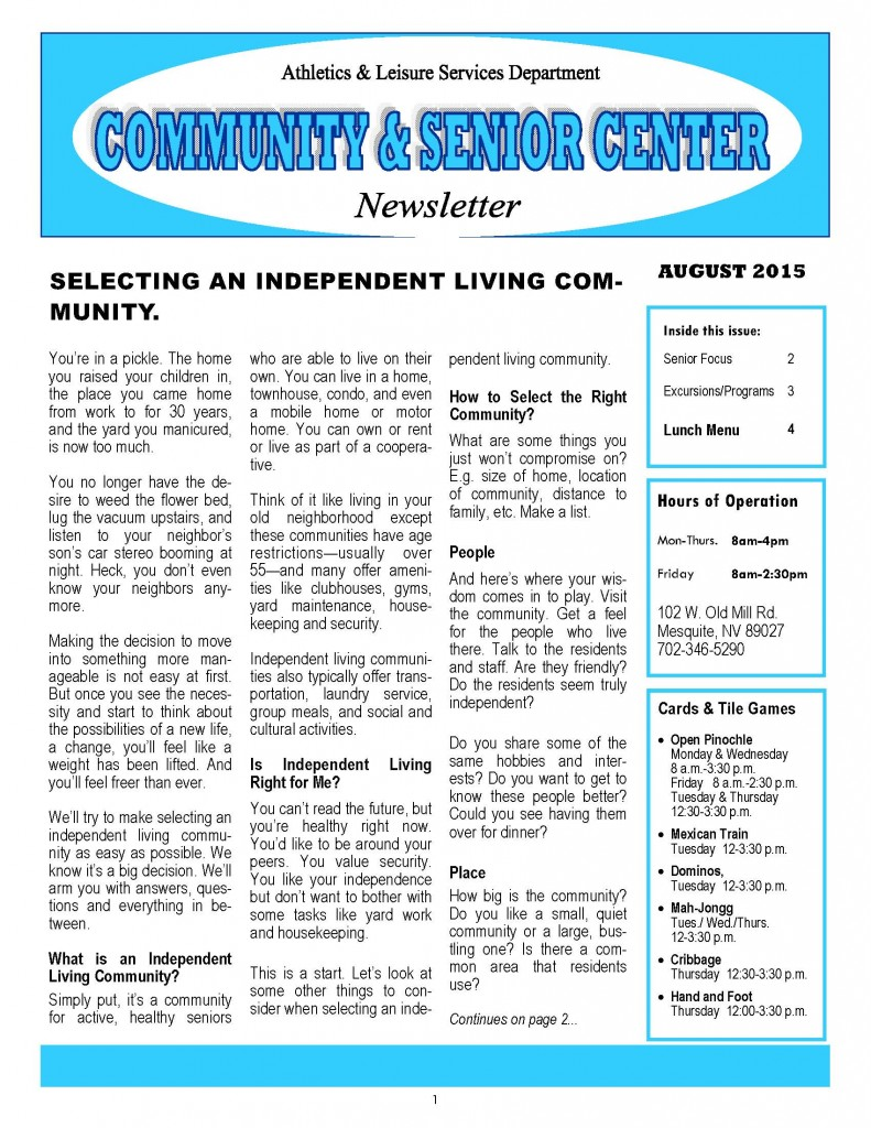 8-15 AUGUST Newsletter & Menu_Page_1