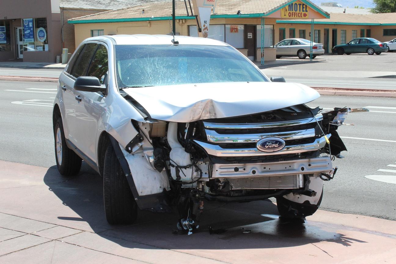 Car crash results in marijuana arrest