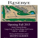 Featured Real Estate August 2015: The Reserve