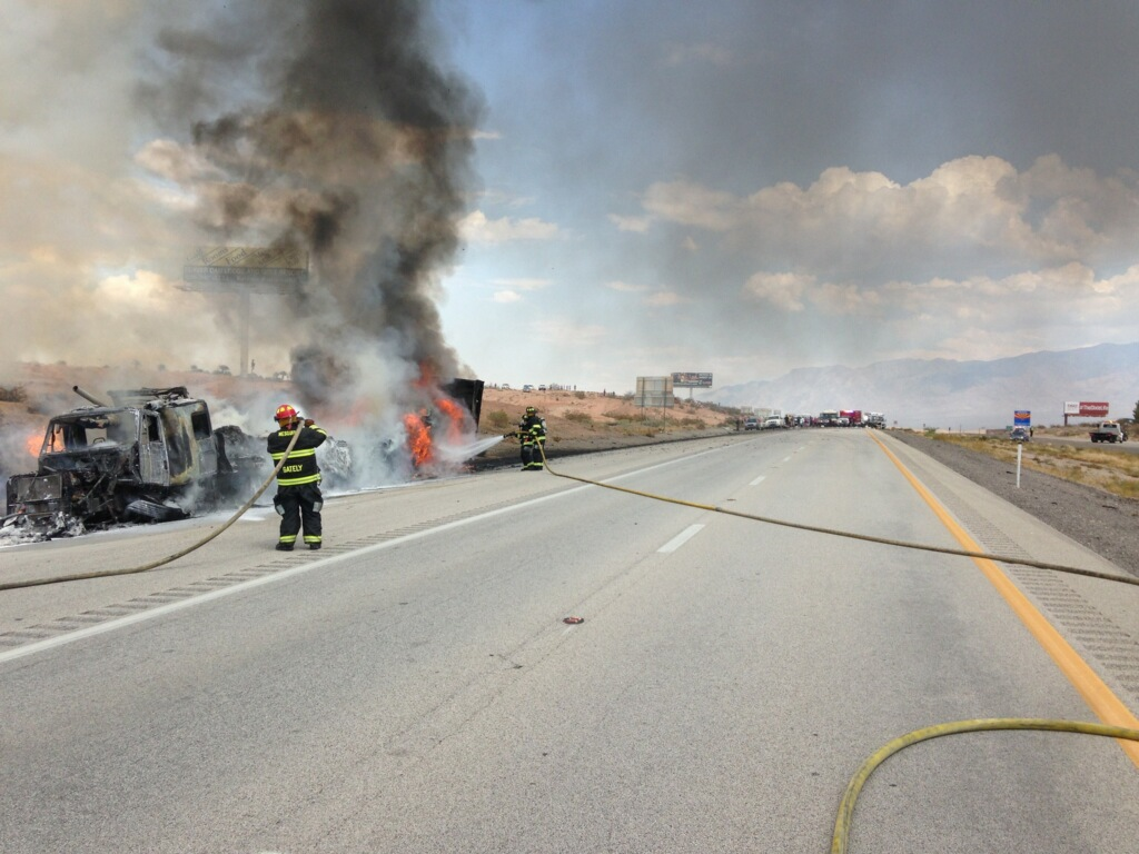 One dead in I-15 collision
