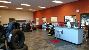 Customers can now browse the wide selection of merchandise and products that ACT carries for their vehicle, from batteries to tires. Photo by Stephanie Frehner.
